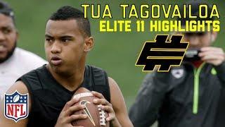 Download Tua Tagovailoa (Alabama QB) Elite 11 Highlights   NFL Network Video