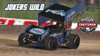 Download iRacing: First Race on Dirt - Jokers Wild (410 Sprintcar @ Eldora) Video