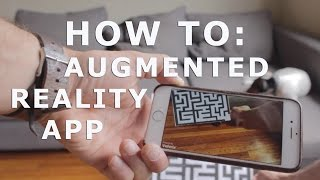 Download How To: Augmented Reality App Tutorial for Beginners with Vuforia and Unity 3D Video