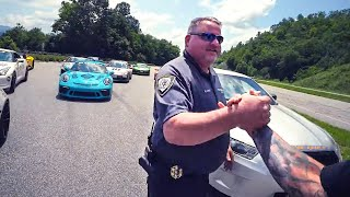 Download COP PULLS OVER 9 SUPERCARS AT ONCE! *ACE SPADE DAY 4* Video