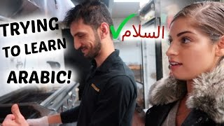 Download TRYING TO LEARN ARABIC! VLOGMAS DAY 8! Video