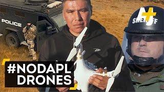 Download #NoDAPL Drones Monitor North Dakota Police Video