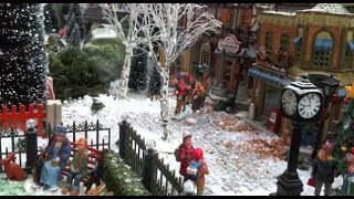 Download Christmas Village Displays - with Lemax houses, Department 56 models, trees, snowmen and figurines Video