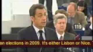 Download Nigel Farage exposes Sarkozy Video