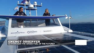 Download Energy Observer: The world's first hydrogen-powered boat Video