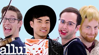 Download The Try Guys Try 9 Things They've Never Done Before | Allure Video