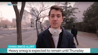 Download China Smog Alert: Beijing and Tianjin have issued orange alerts Video