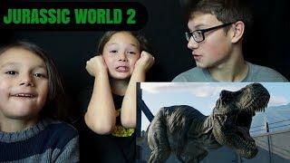 Download JURASSIC WORLD 2: FALLEN KINGDOM Official Trailer #1 Reaction!!! Video