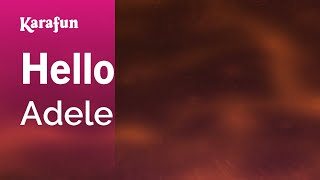 Download Karaoke Hello - Adele * Video