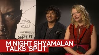 Download A 'Split' second with M. Night Shyamalan Video