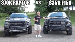 Download $35K Modified F150 VS $70K Ford Raptor | What's the better value? Video