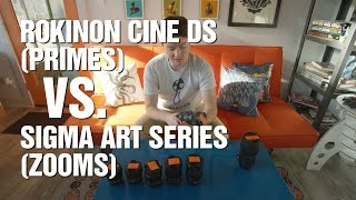 Download Why I'm Switching from Rokinon Cine DS to Sigma Art Series - Lens Comparison Video