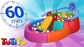 Download TuTiTu Compilation   Ball Pit   And Other Popular Toys for Kids   1 HOUR Special Video