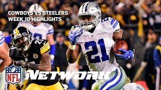 Download Cowboys vs. Steelers Highlights with Deion Sanders & LT   GameDay Prime   NFL Network Video