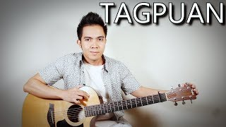 Download Tagpuan - Moira Dela Torre (fingerstyle guitar cover + lyrics on screen) Video