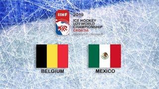 Download IIHF 2019 ICE HOCKEY U20 WORLD CHAMPIONSHIP - DIVISION II GROUP B - BELGIUM vs MEXICO Video