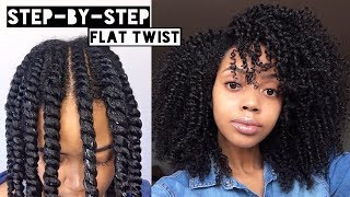 Download How To | Flat Twist Out on Natural Hair | Cool Calm Curly Video