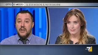 Download Otto e mezzo - Il SI di Boschi, il NO di Salvini (Puntata 07/10/2016) Video