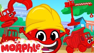 Download Morphle Loves Building! Morphle Shorts (+1 hour My Magic pet Morphle kids vehicle compilation) Video
