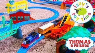 Download Thomas and Friends | Thomas Train HUGE TOMY TRACKMASTER TRACK! Fun Toy Trains for Kids and Children Video