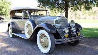 Download NY Mayor Jimmy Walker's 1929 Packard 640 Phaeton For Sale. Charvet Classic Cars. Video