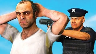 Download ARRESTING TREVOR PHILIPS AS A COP IN GTA 5! (GTA 5 Funny Moments) Video