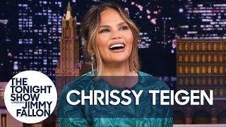 Download Chrissy Teigen's Daughter Luna Shows Off Her Adorable Negotiation Skills Video