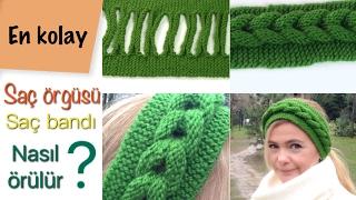Download Saç örgüsü örmek zor diyenler çok şaşıracak/ daha kolayı yok / saç örgülü saç bandı/örgü modelleri Video