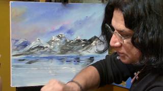 Download Cómo pintar un paisaje / Pintura al óleo - Parte 1 Video
