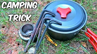 Download This Camping Stove Trick Will Save Your Money! Video
