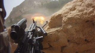 Download FIREFIGHT ON HELMET CAM IN AFGHANISTAN - PART 1 | FUNKER530 Video