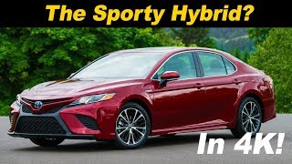 Download 2018 Toyota Camry Hybrid Review and Road Test in 4K UHD! Video