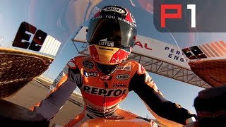 Download Amazing Marc Marquez onboard lap Video