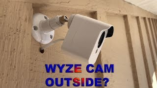 Download WYZE CAM OUTSIDE? HOW TO SET UP A BUDGET SECURITY SYSTEM Video