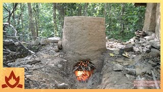 Download Primitive Technology: Termite clay kiln & pottery Video