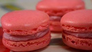 Download Raspberry Macarons Recipe Demonstration - Joyofbaking Video