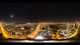 Download 8K 360 Degree Timelapse of Dubai's Sheikh Zayed Road Video