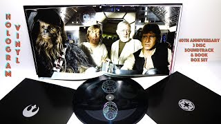 Download What's in the STAR WARS 40th Anniversary Vinyl Soundtrack Box Set Video