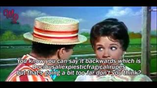Download Mary Poppins (1964) - ″Supercalifragilisticexpialidocious″ - Video/Lyrics Video