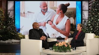 Download Steve Harvey Isn't As Happy As Most Grandparents Video