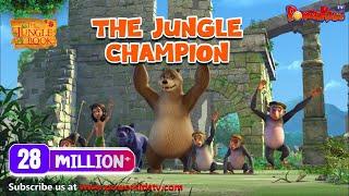 Download jungle book hindi Cartoon for kids | The Jungle Champion | Hindi kahaniya Video