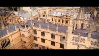 Download Oxford University by drone Video