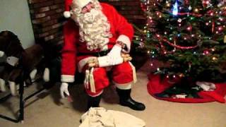 Download Santa visits our house Video