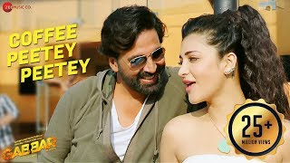 Download Coffee Peetey Peetey Full Video - Gabbar Is Back | Akshay Kumar & Shruti Haasan Video