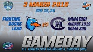 Download Live: Fighting Ducks VS Audace Minatori Roma Sud Video