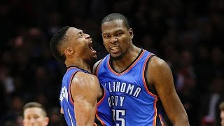 Download Russell Westbrook and Kevin Durant Best Moments - Alley-Oops and Rap Battles Video