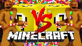 Download Minecraft: CANDY LUCKY BLOCK CHALLENGE | Gingerbread Man Fight! Video