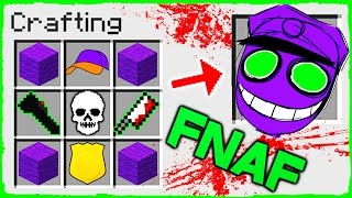 Download Minecraft FNAF - How to Summon PURPLE GUY in Crafting Table! Video