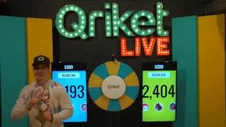 Download QriketLIVE Replay #38 - Free Play $200 Game Video