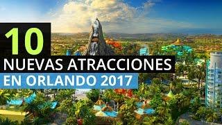 Download 10 Nuevas Atracciones en Orlando Florida 2017 Video